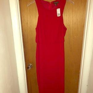 Full length red forever 21 dress size 2X